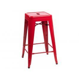 Barová židle Tolix 66, červená 41411 CULTY
