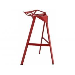 Barová židle Stool, červená 3336 CULTY