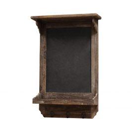 Poznámková tabule hnědá antik