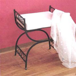 Kovová stolička černá