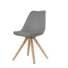 Jídelní židle LADY šedá