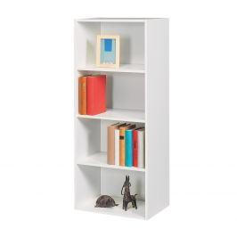 Knihovna POLYKUB 4 bílá