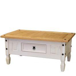 Konferenční stolek CORONA bílý vosk 163910B