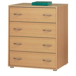 Prádelník 4 zásuvkyi 1502 buk