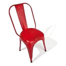Židle AIX retro červená