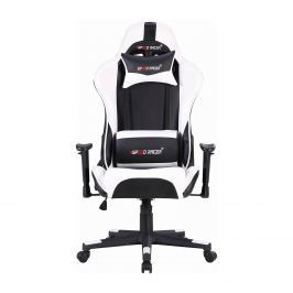Racing chair SPEED RACER bílý
