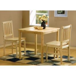 Stůl + 2 židle GENT lak