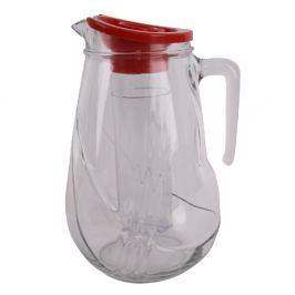 Skleněný džbán s plastovou vložkou Roll, 2,5 l