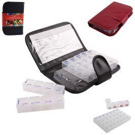 Box plastový na léky s pouzdrem