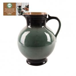 Orion Zelený keramický džbán krajáč 3,2l