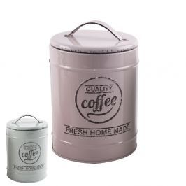 Dóza plechová kulatá COFFEE
