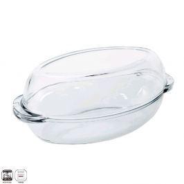 Orion pekáč sklo + víko ovál 2x 2,25l