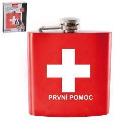 Nerezová kapesní láhev First Aid 0,17 l
