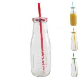 Láhev skleněná STRAW 0,4 L