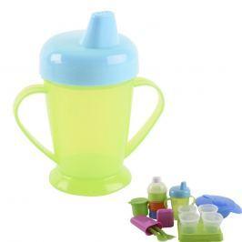 Hrnek plastový s pítkem BABY 0,25 L
