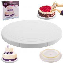 Orion Stojan servírírovací na dort umělohmotný dort otočný 27cm