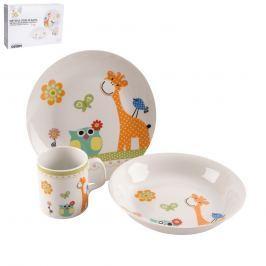 Dětská jídelní sada ŽIRAFA 3ks