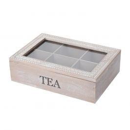 Box dřevěný na čaj