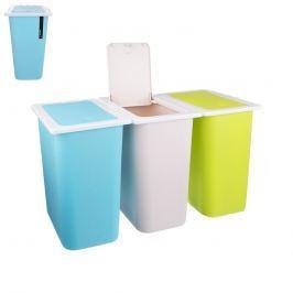 Koš odpadkový na tříděný odpad 13 l, 3ks