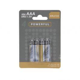 Baterie Powerful AAA 4ks