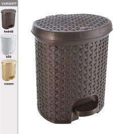 Koš odpadkový s pedálem RATAN 11,5 L
