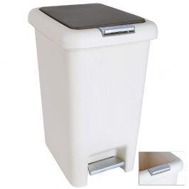 Koš odpadkový s pedálem a klipem DUST 30 L