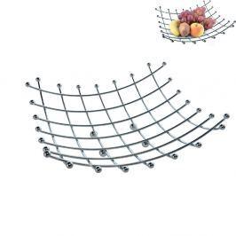 Košík na ovoce chromovaný 28 x 28 cm