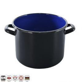 Hrnec smaltovaný černý 6,2 L