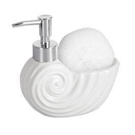 Dávkovač mýdla porcelánový VLNA