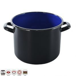 Hrnec smaltovaný černý 8,5 L