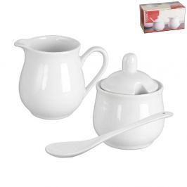 Cukřenka a mlékovka porcelánová