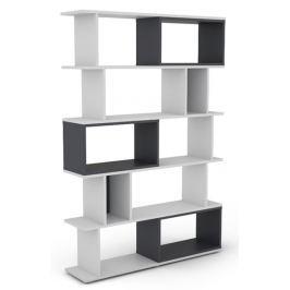Cubix, bílý/grafitově šedý
