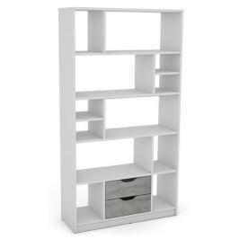 Sten 1, bílý/šedý beton