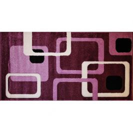Malinový koberec Rumba 5280, 100x180 cm