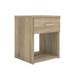 Noční stolek Tavoli, dub sonoma