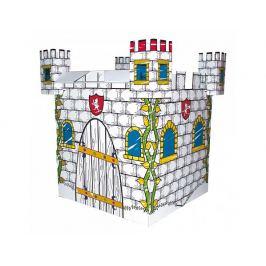 Kartonový domek, hrad