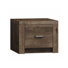 Noční stolek Cristalera, jasan tmavý