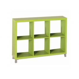 Regál Bunkin 4, zelená