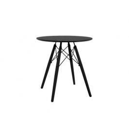 Kulatý jídelní stůl Buanderie, černá