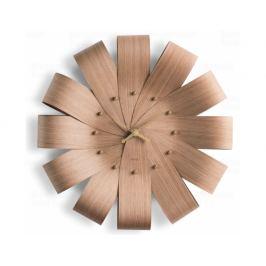 Designové nástěnné hodiny Nomon Ciclo CIRG oak 55cm