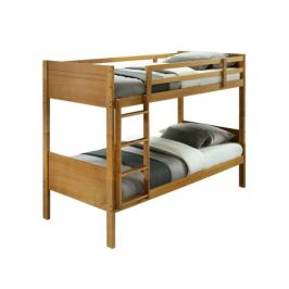 Patrová postel Grantar, dub