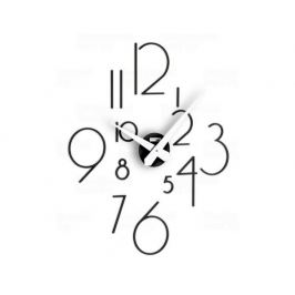 Designové nástěnné nalepovací hodiny I211NL black IncantesimoDesign 85cm