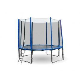 Modrá trampolína 4UPVC 305 cm s ochrannou sítí + žebřík
