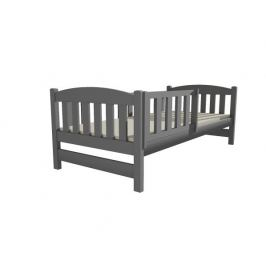 Dětská postel DP 002 šedá, 90x200 cm