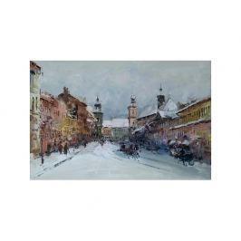 Obraz - Zasněžené město