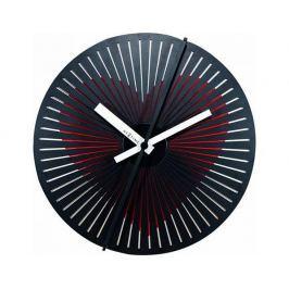 Pohyblivé designové nástěnné hodiny Nextime 3124 Kinegram Heart 30cm