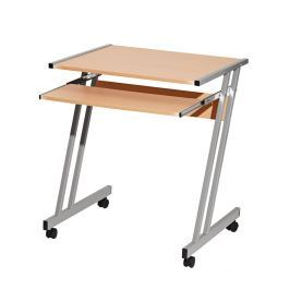 PC stůl na kolečkách 106, buk