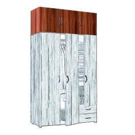 Nástavec 3 dveřový 405067 ořech