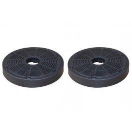 Karbonový filtr pro odsavač par PYRAMIS 60 cm stříbrný - 2 ks