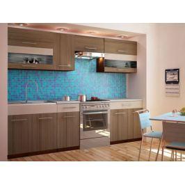 Kuchyně JURA NEW I ZS 200/260 cm, rigoleto dark
